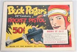 BUCK ROGERS DAISY ROCKET PISTOL ADVERTISIMENT