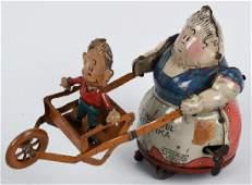 NIFTY Tin Windup POWERFUL KATRINKA & JIMMY