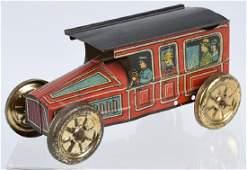 MOHAWK TIN PUSH CAR