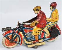 GELY Tin Windup MOTORCYCLE & RIDERS