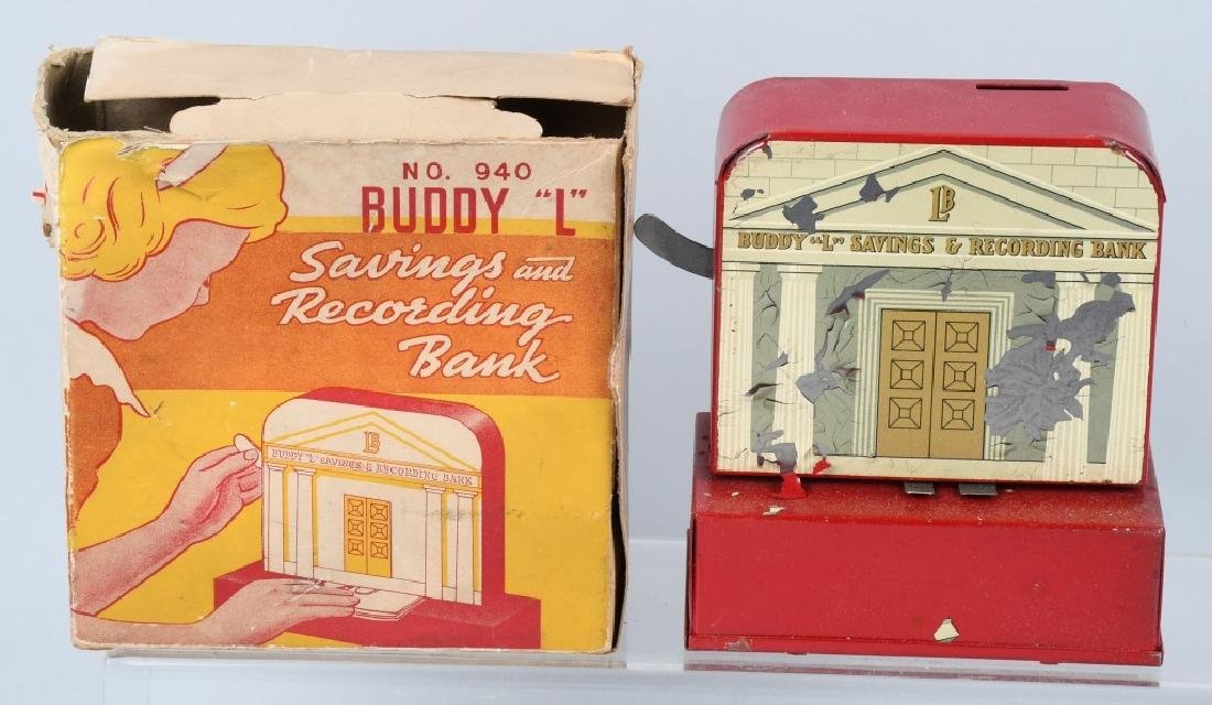 IDEAL FORTUNE TELLING & BUDDY L BANKS W/ BOXES - 2