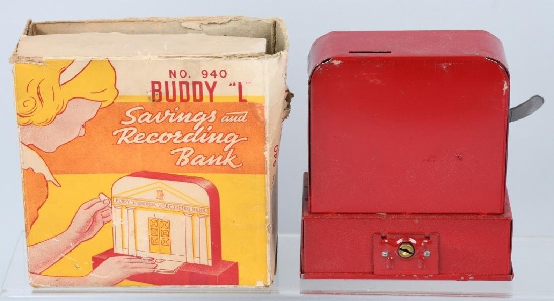 IDEAL FORTUNE TELLING & BUDDY L BANKS W/ BOXES - 3