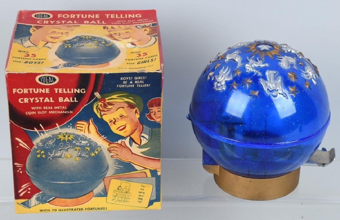 IDEAL FORTUNE TELLING & BUDDY L BANKS W/ BOXES - 4