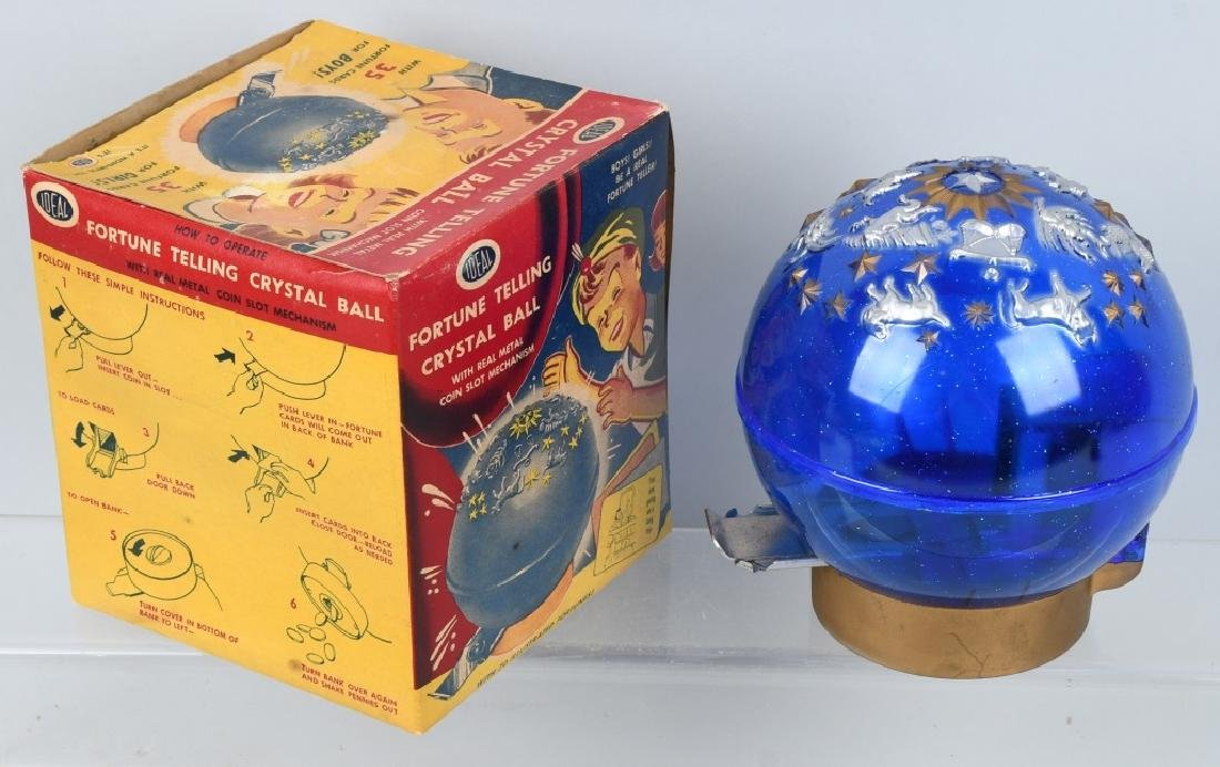 IDEAL FORTUNE TELLING & BUDDY L BANKS W/ BOXES - 5