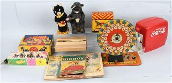 LOT OF VINTAGE TOYS  MORE