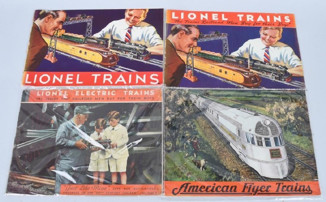 LOT OF 1930s-40s LIONEL TRAIN CATALOGS - 2