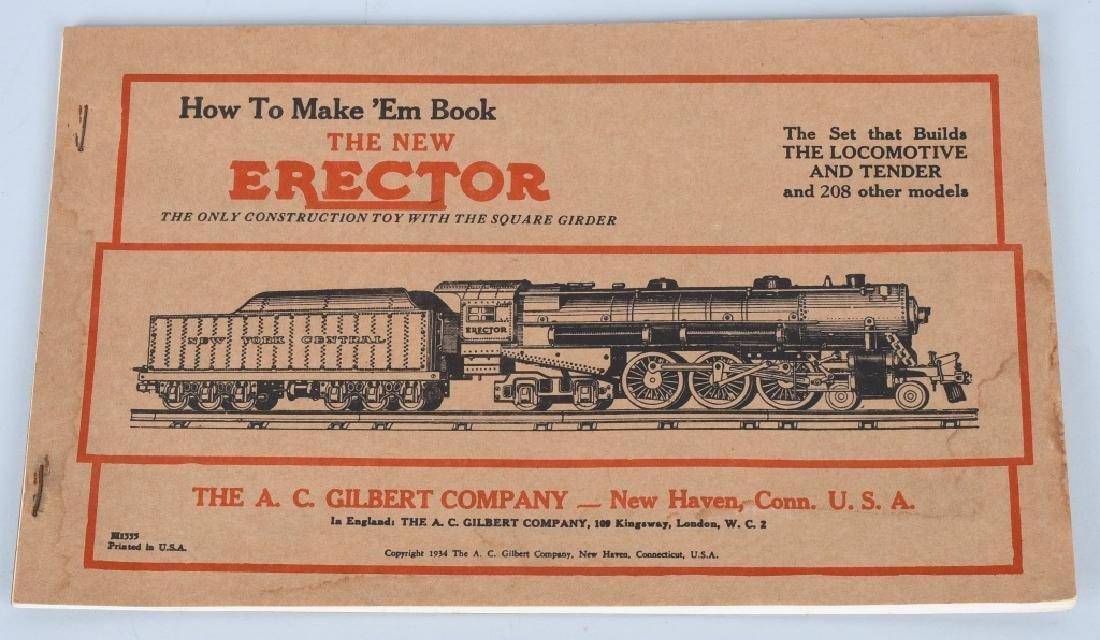 LOT OF 1930s-40s LIONEL TRAIN CATALOGS - 3