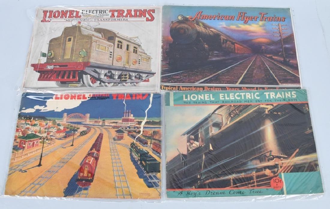 LOT OF 1930s-40s LIONEL TRAIN CATALOGS - 4