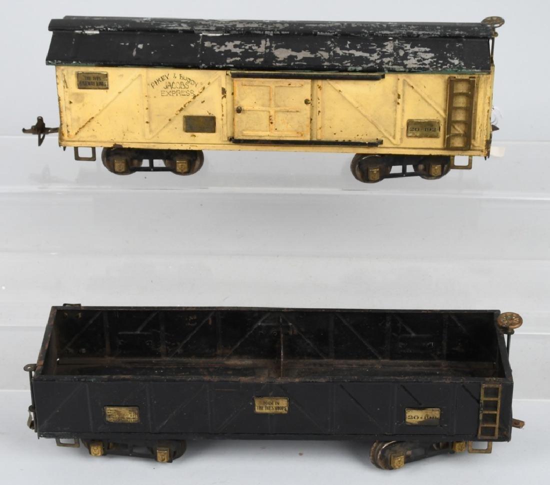 LIONEL and IVES STANDARD GAUGE TRAIN LOT - 4
