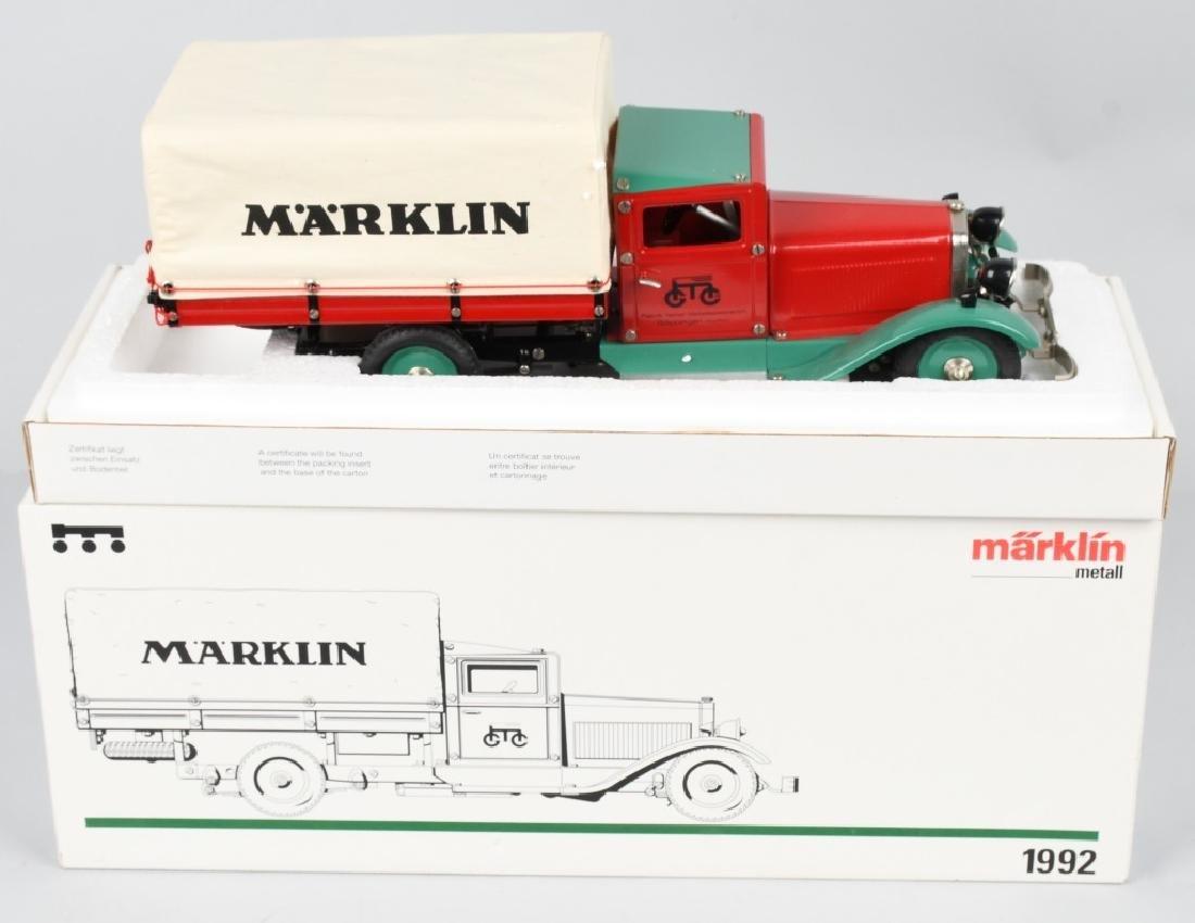 GERMAN MARKLIN windup DELIVERY TRUCK w/ BOX