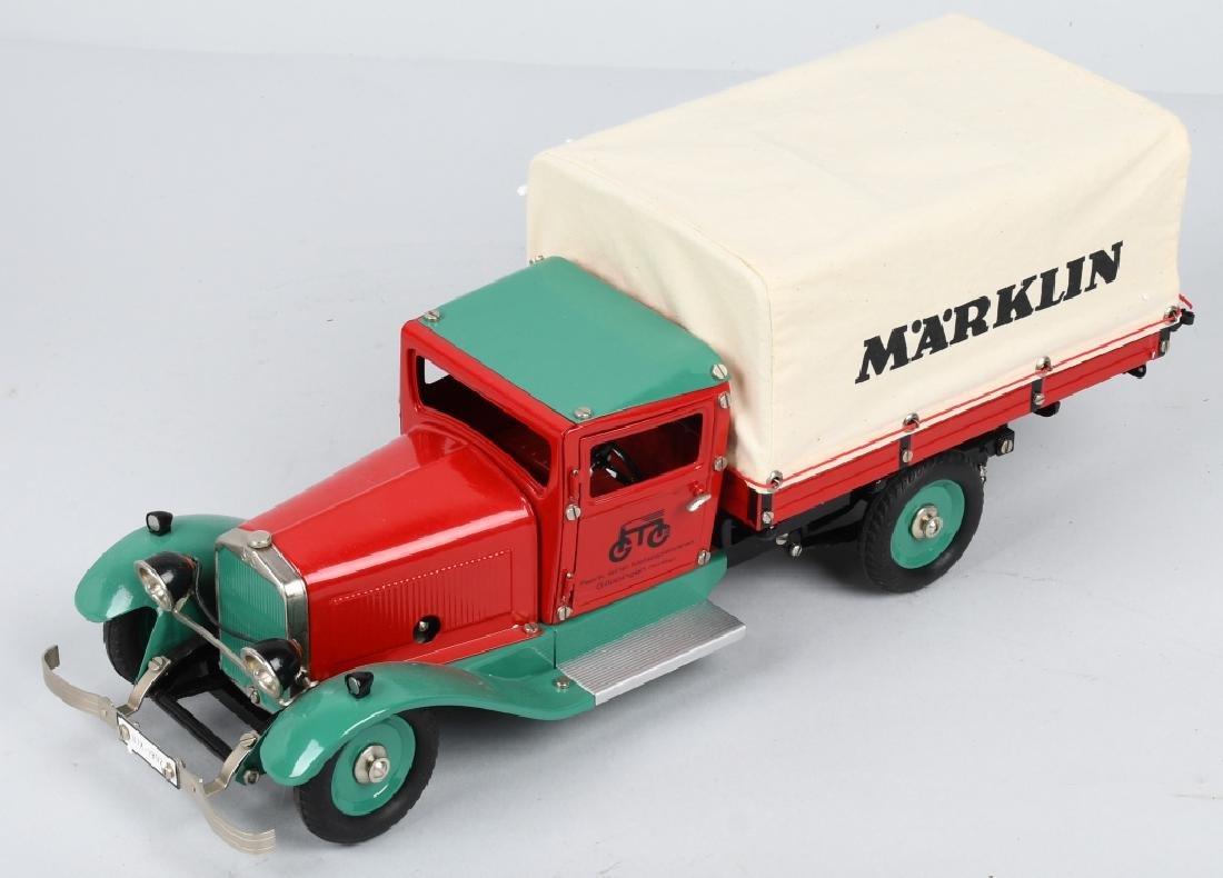 GERMAN MARKLIN windup DELIVERY TRUCK w/ BOX - 2