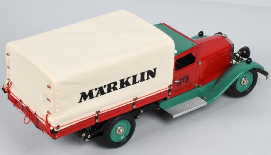 GERMAN MARKLIN windup DELIVERY TRUCK w/ BOX - 3