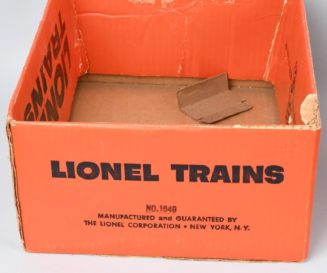 LARGE LOT of LIONEL TRAIN EMPTY BOXES - 3