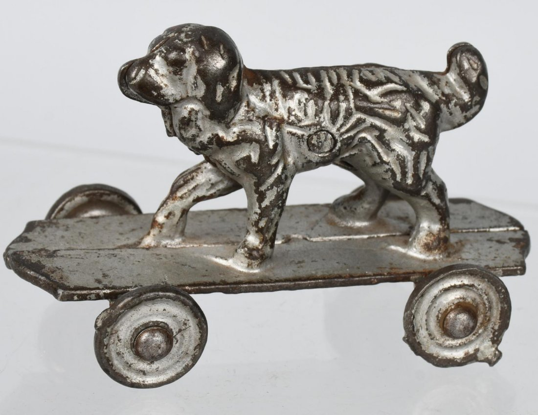 SHIMER cast iron DOG on PLATFORM