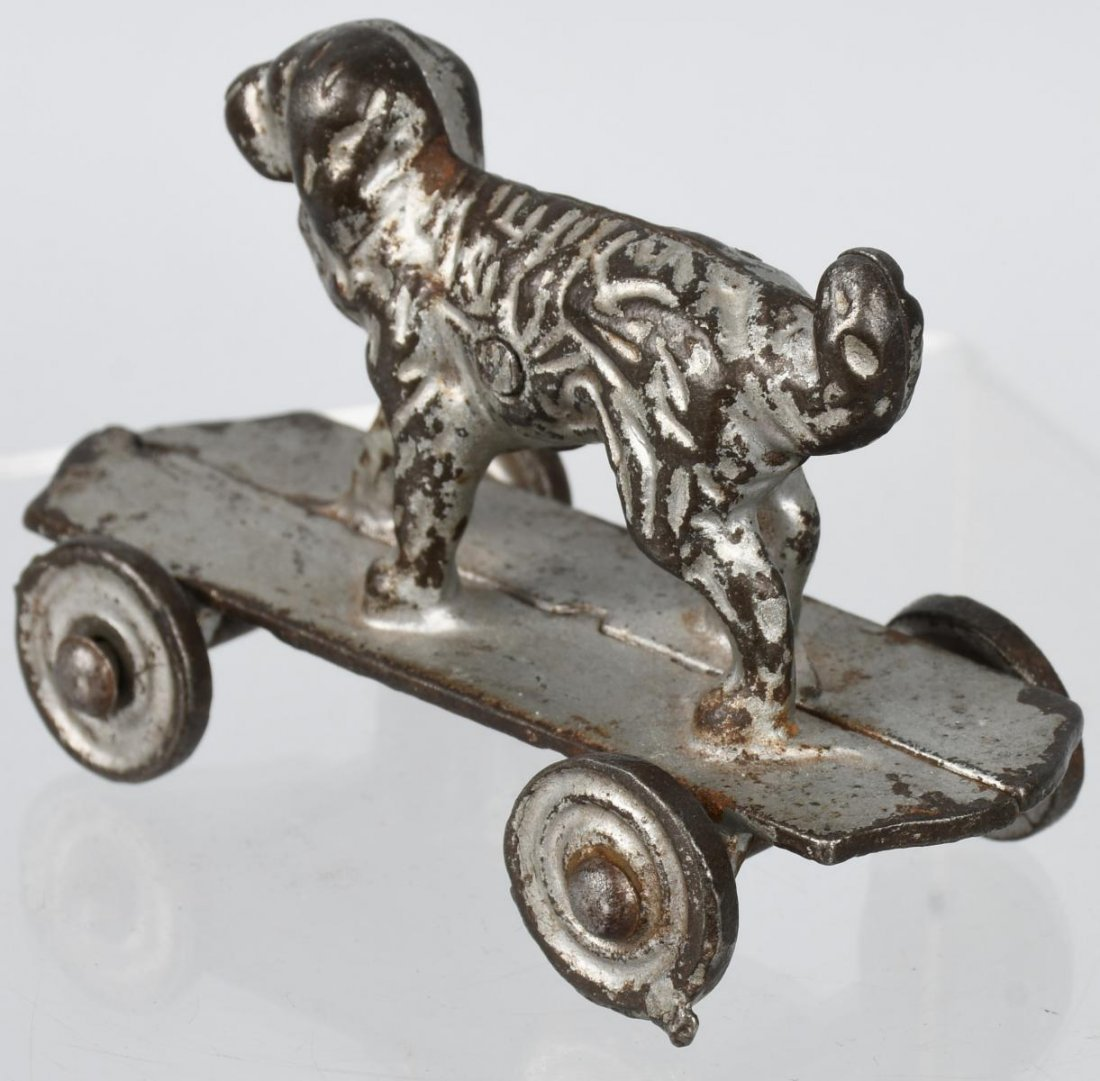 SHIMER cast iron DOG on PLATFORM - 2