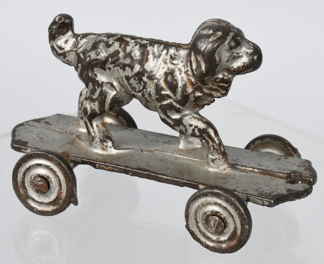 SHIMER cast iron DOG on PLATFORM - 4