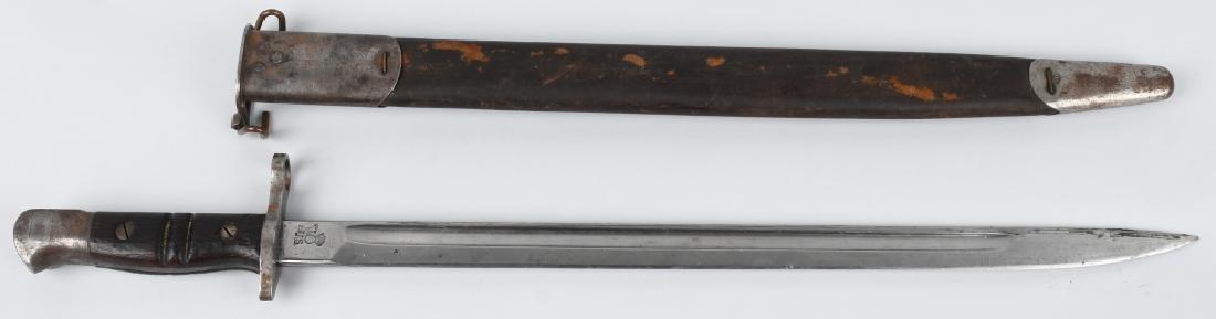 WWI US M1917 BAYONET, REMINGTON, W/ SCABBARD