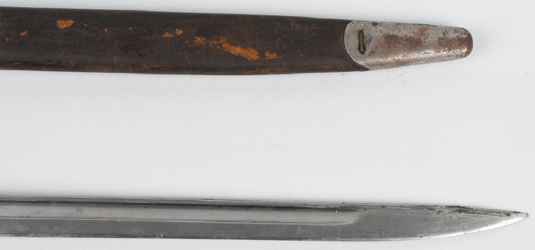 WWI US M1917 BAYONET, REMINGTON, W/ SCABBARD - 7