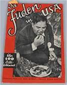 """WWII NAZI GERMAN NSDAP BOOK """" DIE JUDEN IN USA"""""""