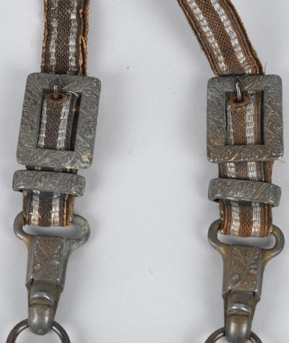 WWII NAZI LUFTWAFFE DRESS DAGGER W/ HANGERS - 9