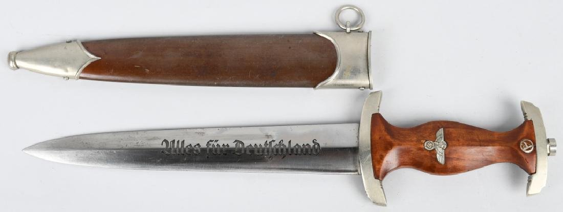 WWII NAZI GERMAN EARLY SA DAGGER