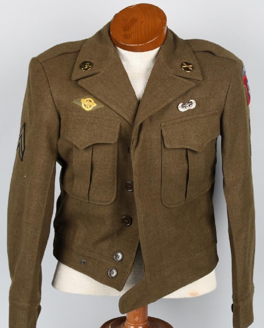 WWII US 82ND AIRBORNE GLIDER FO IKE JACKET