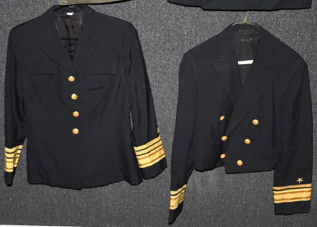 US LOT OF 4 NAVY ADMIRAL UNIFORMS - 2
