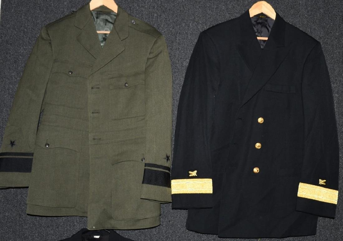 US LOT OF 4 NAVY ADMIRAL UNIFORMS - 3