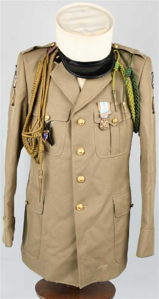 d4bc7abaa09 FRENCH FOREIGN LEGION UNIFORM WITH KEPI BLANC