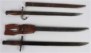 WWII JAPANESE TYPE 30 BAYONET LOT