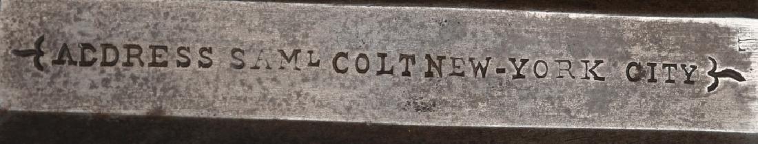 COLT 3rd MODEL DRAGOON .44 REVOLVER, STOCK SLOTS - 7