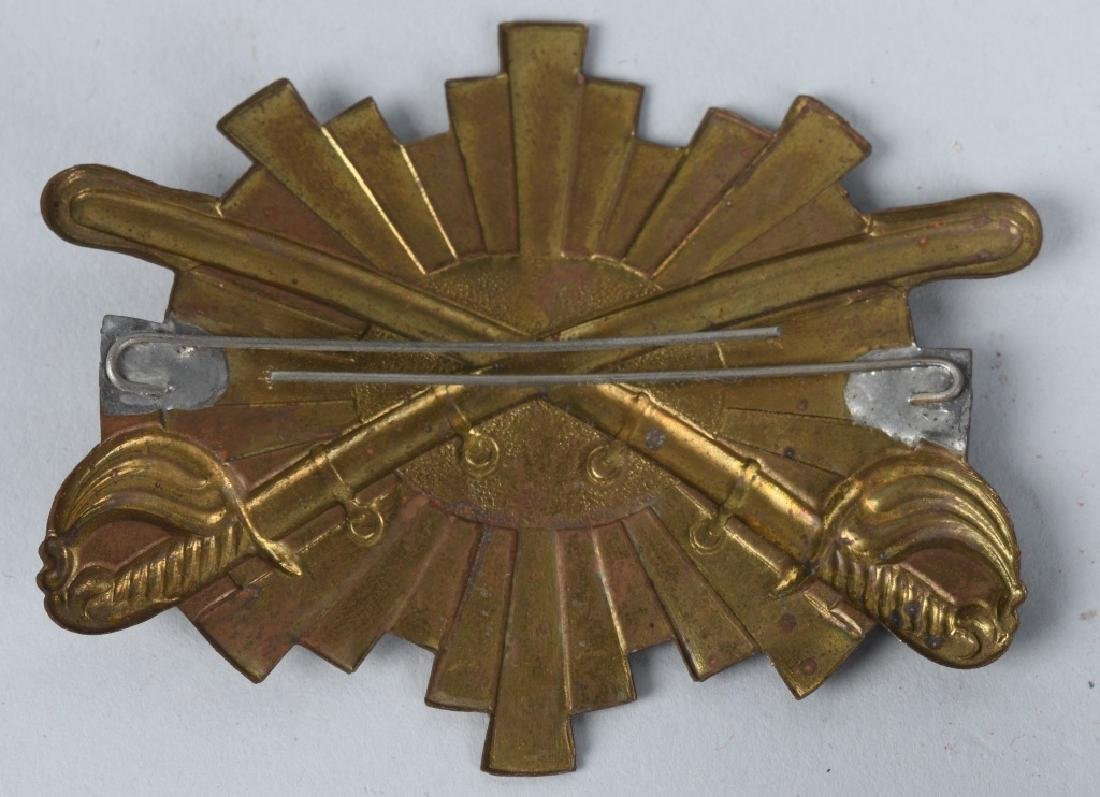 CIVIL WAR UNION ARMY SHERIDAN ARMY HAT BADGE - 2