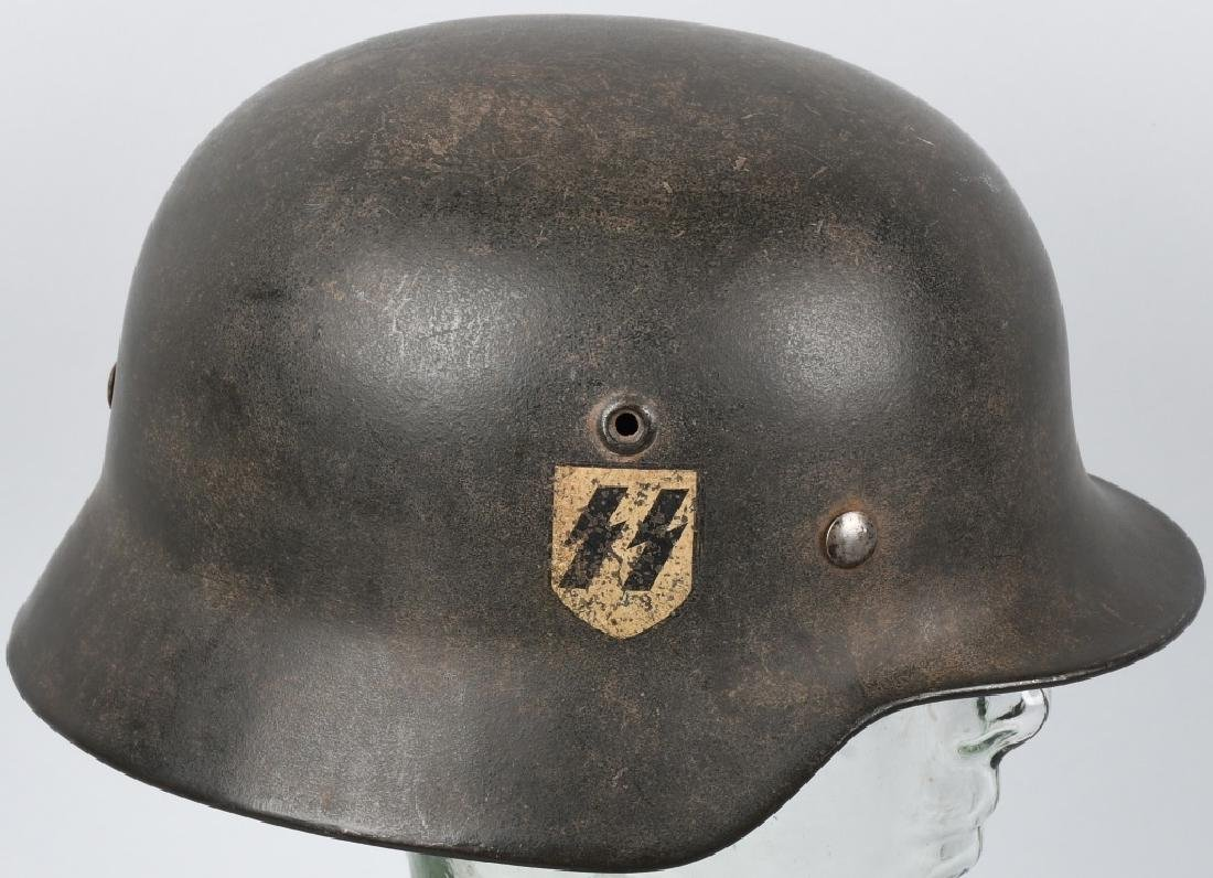 Wwii nazi german dd m40 waffen ss helmet et66 jan 19 2019 milestone auctions in oh