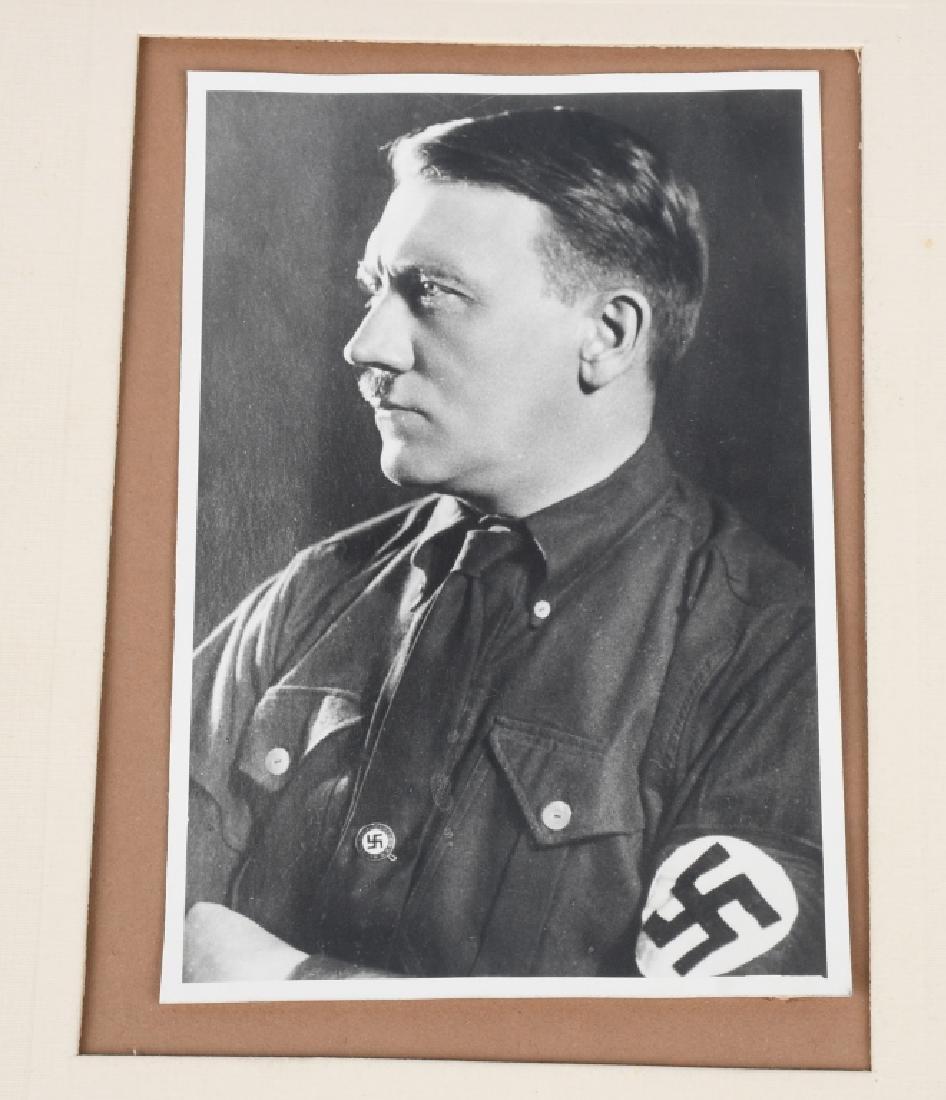 1932 ADOLF HITLER PHOTO CARD & SIGNED LETTER - 7