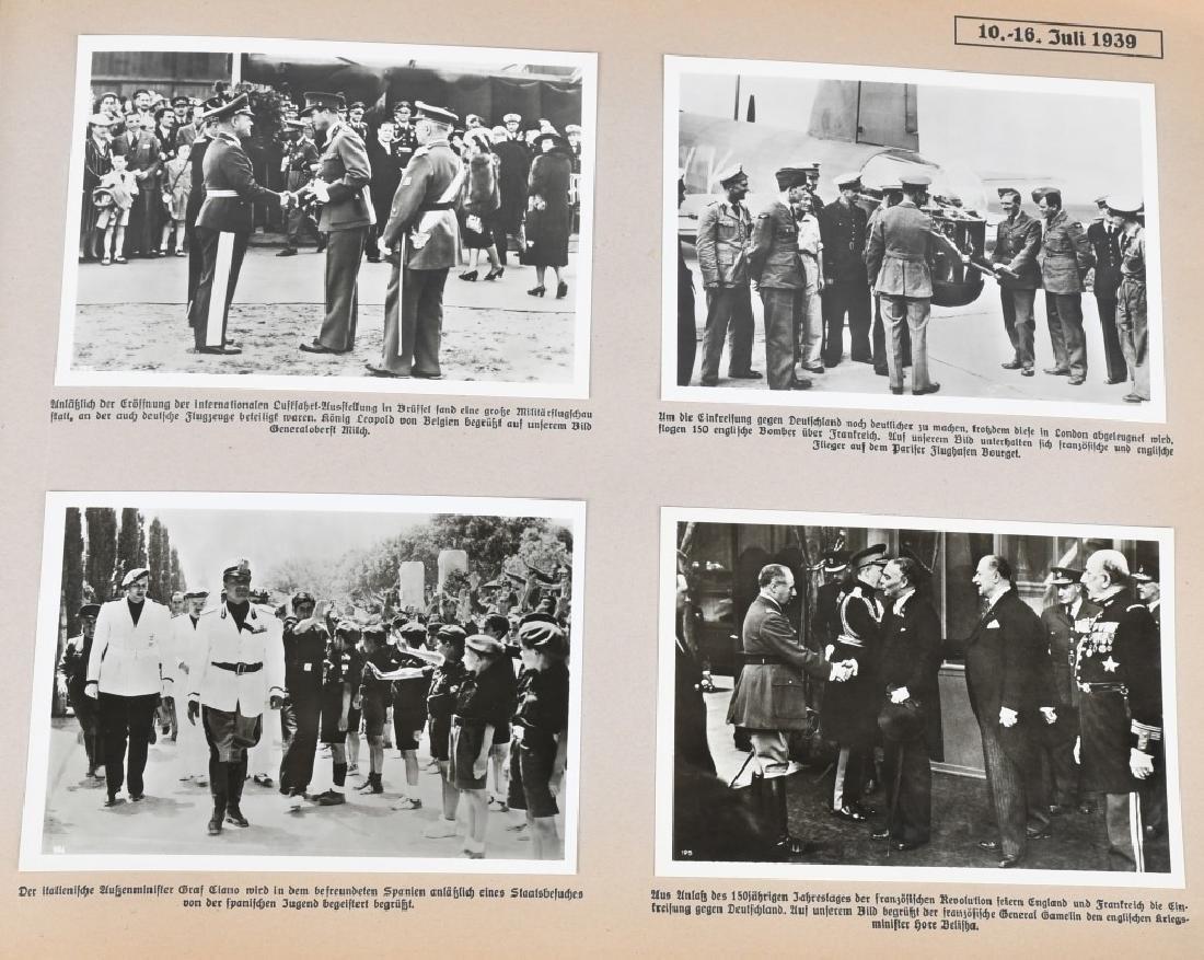 GROSSDEUTSHLAND IM WELTGESCHEHEN 1939 PHOTO BOOK - 10
