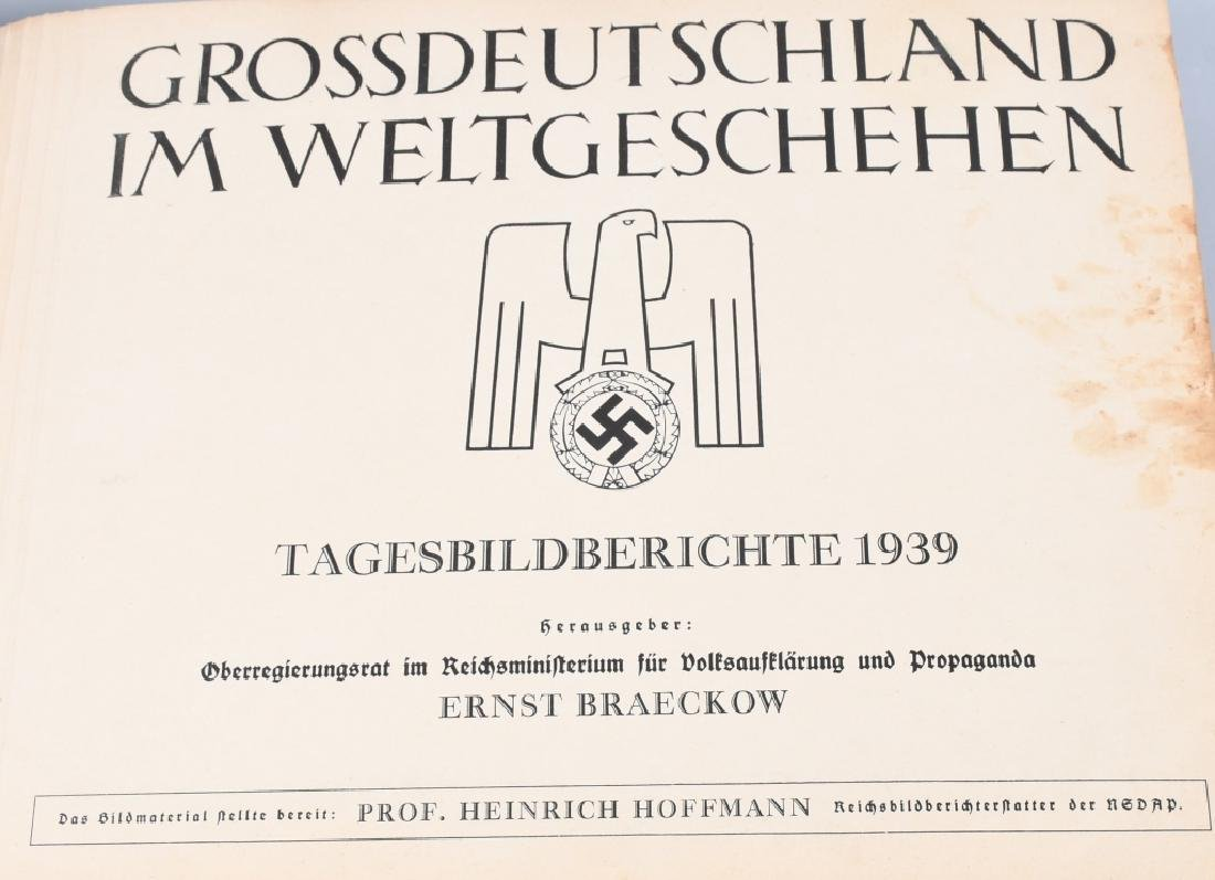 GROSSDEUTSHLAND IM WELTGESCHEHEN 1939 PHOTO BOOK - 2