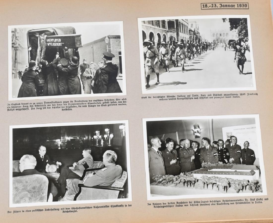 GROSSDEUTSHLAND IM WELTGESCHEHEN 1939 PHOTO BOOK - 5
