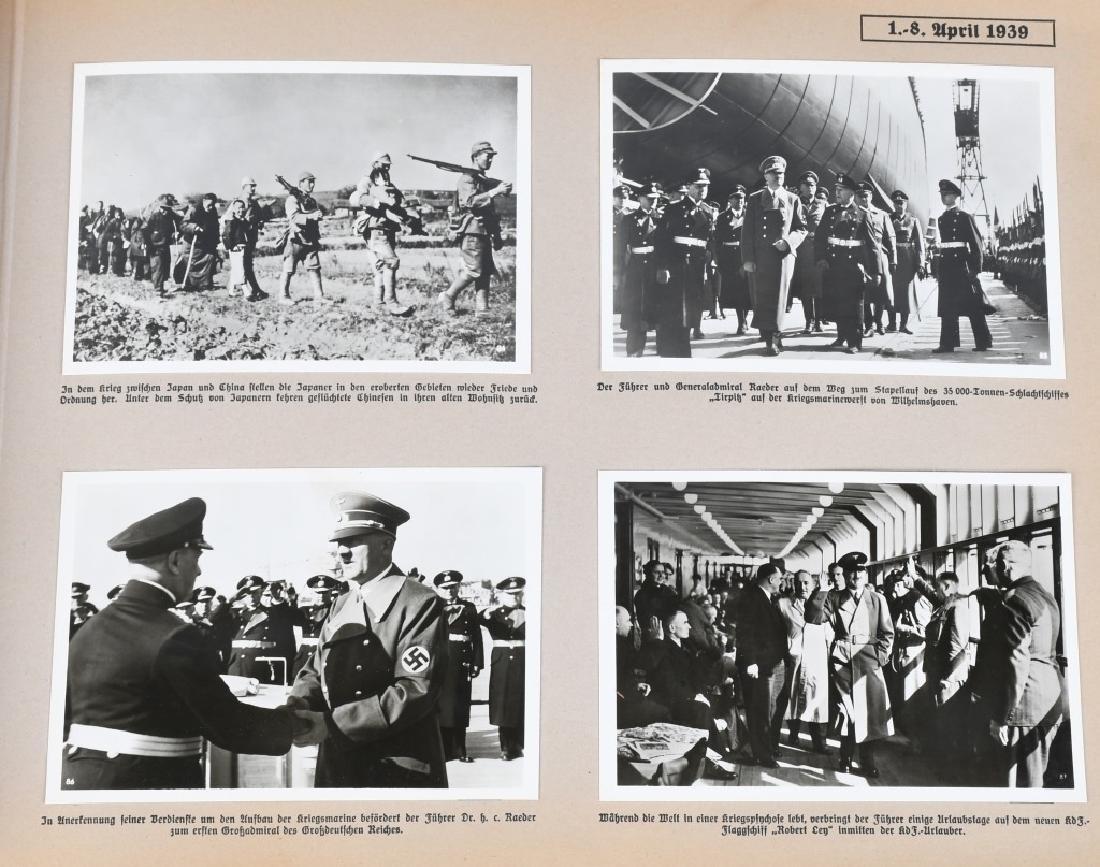GROSSDEUTSHLAND IM WELTGESCHEHEN 1939 PHOTO BOOK - 7