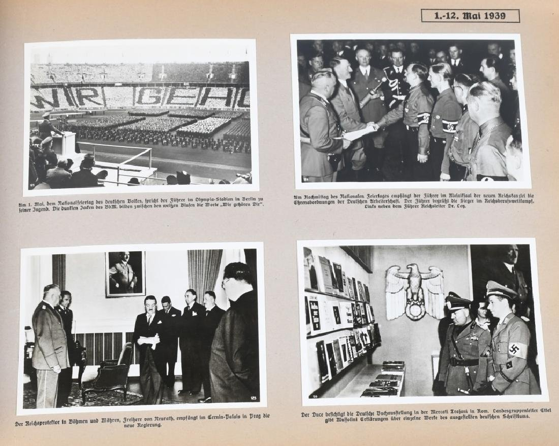 GROSSDEUTSHLAND IM WELTGESCHEHEN 1939 PHOTO BOOK - 8