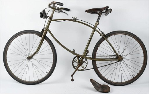 WWII BRITISH BSA PARATROOPER FOLDING BICYCLE