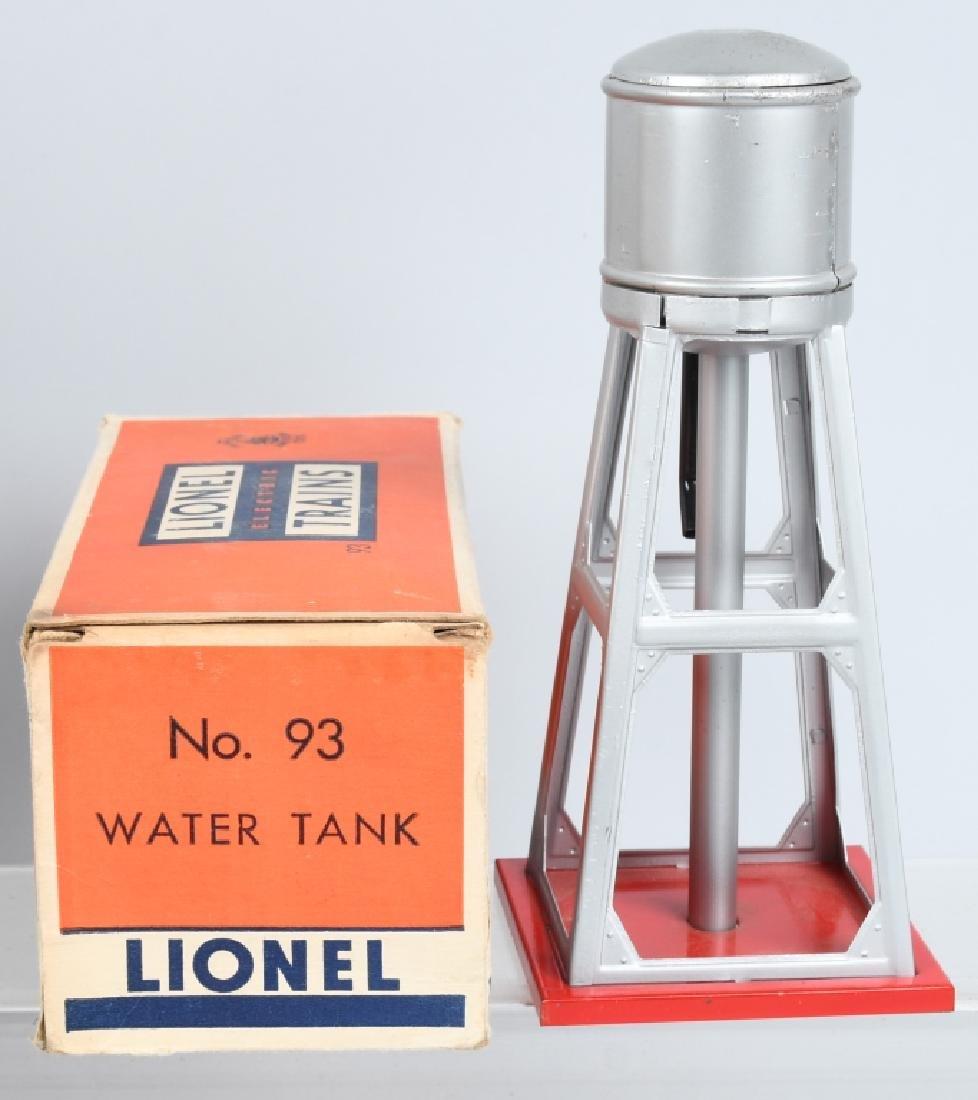 2- PREWAR LIONEL 93 WATER TOWER w/ BOX O GAUGE - 3
