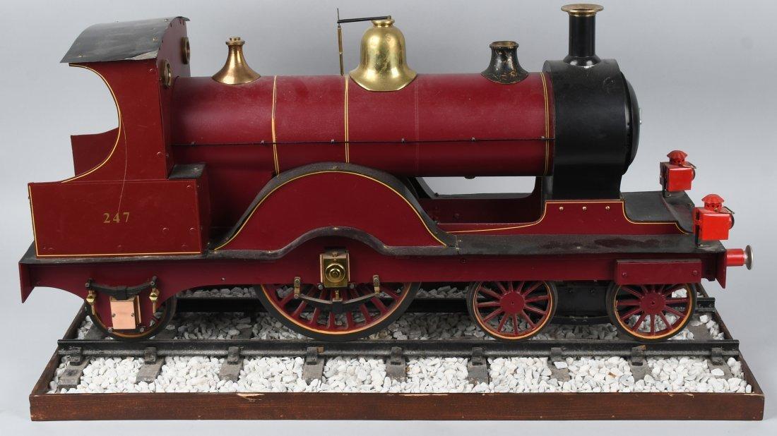 "RARE LMS BACKYARD LOCOMOTIVE 5"" gauge"