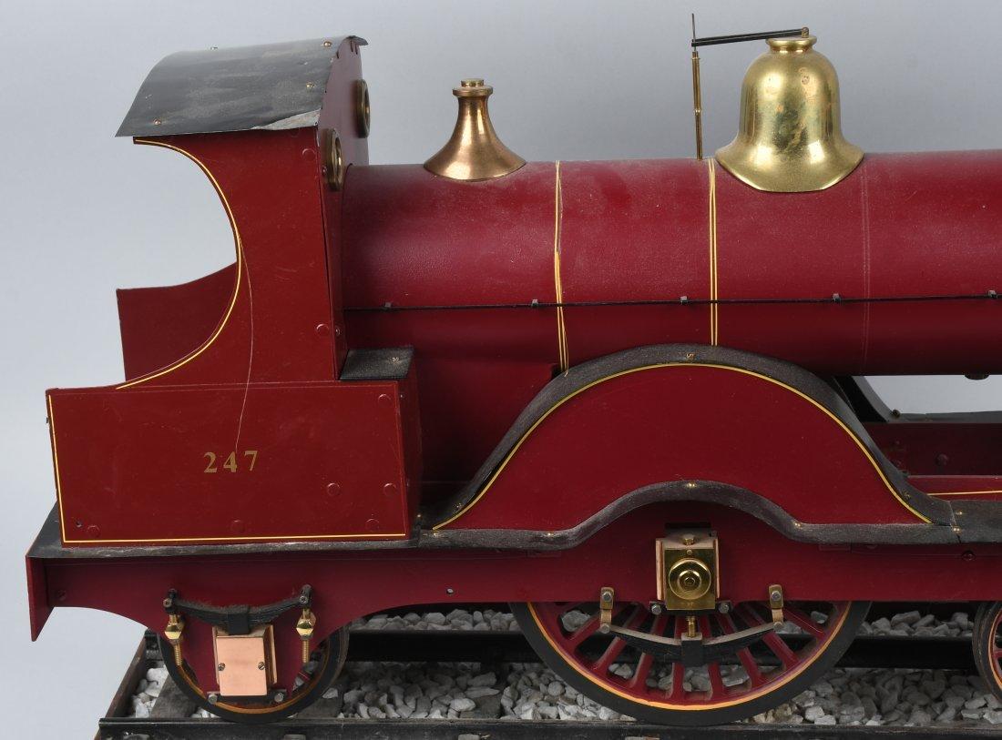 "RARE LMS BACKYARD LOCOMOTIVE 5"" gauge - 2"