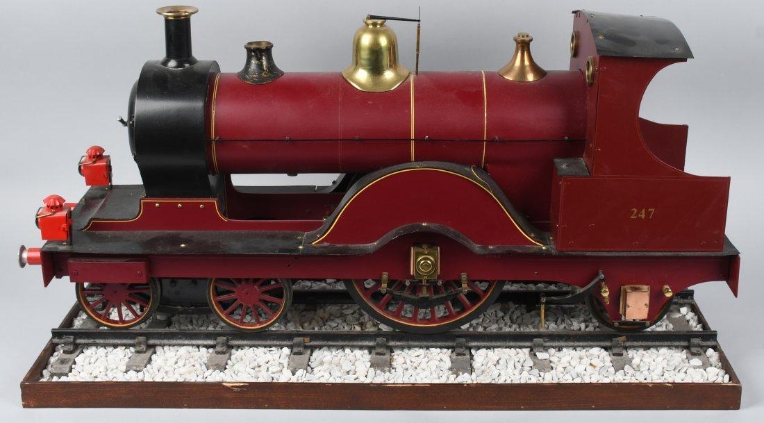 "RARE LMS BACKYARD LOCOMOTIVE 5"" gauge - 5"