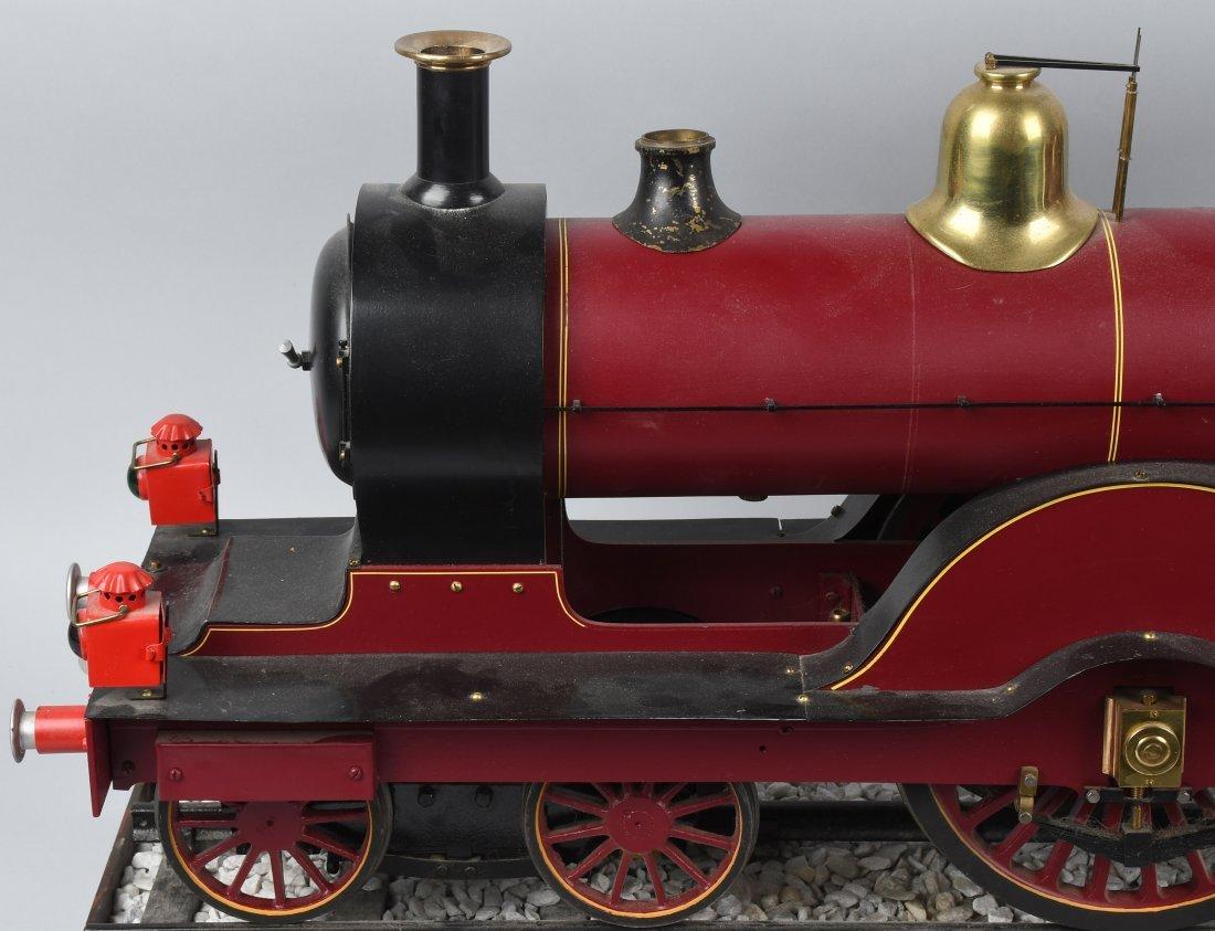 "RARE LMS BACKYARD LOCOMOTIVE 5"" gauge - 7"