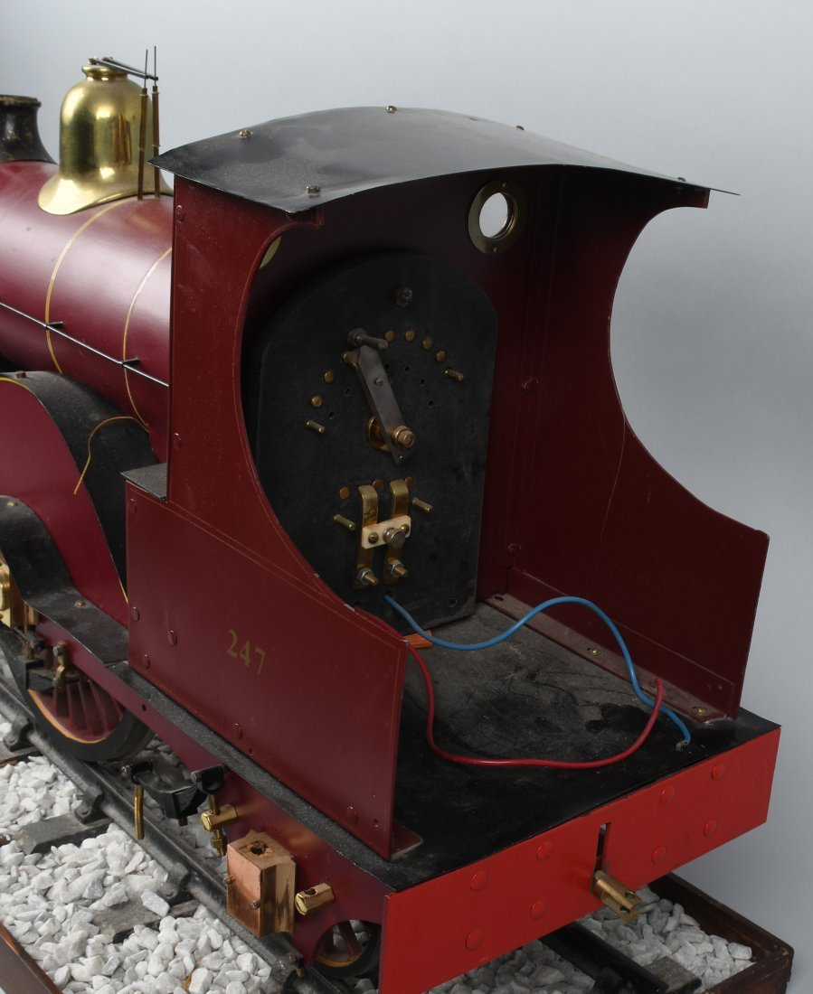 "RARE LMS BACKYARD LOCOMOTIVE 5"" gauge - 8"