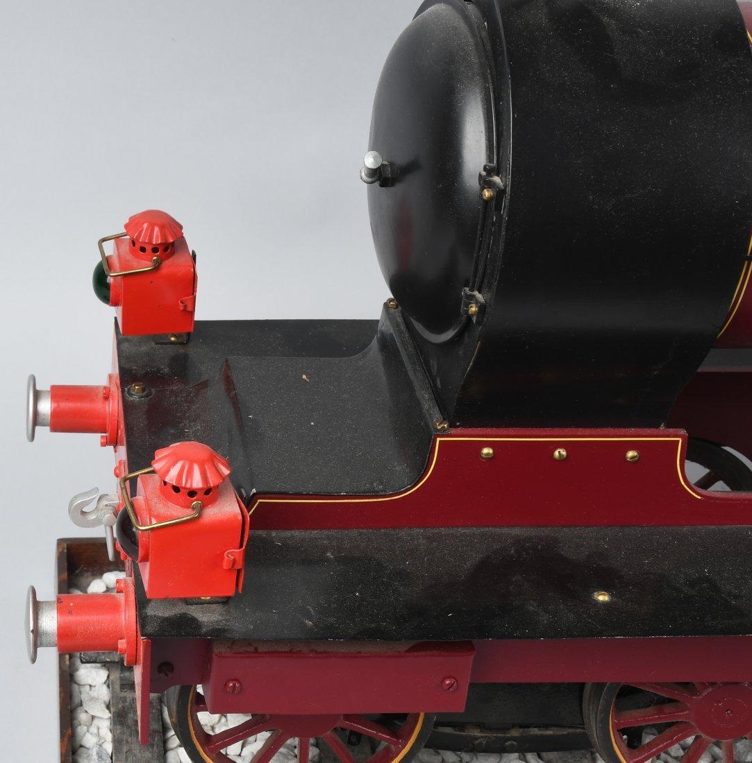"RARE LMS BACKYARD LOCOMOTIVE 5"" gauge - 9"