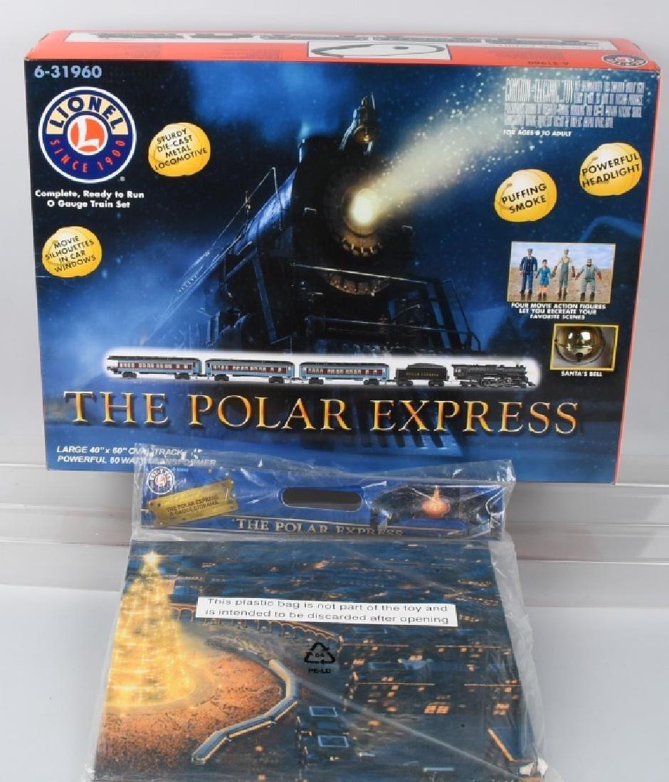 LIONEL POLAR EXPRESS TRAIN SET O-GAUGE 6-31960