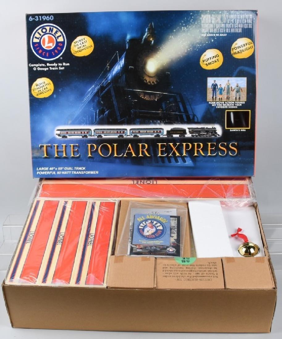 LIONEL POLAR EXPRESS TRAIN SET O-GAUGE 6-31960 - 2