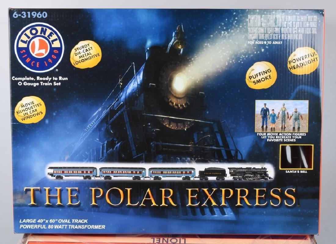 LIONEL POLAR EXPRESS TRAIN SET O-GAUGE 6-31960 - 4